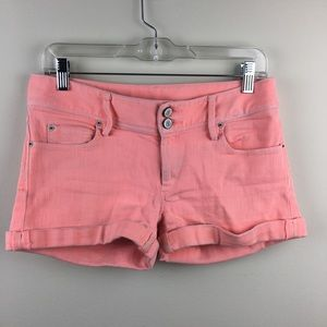 Lily Pulitzer Pink Denim Clifton Short Size 4